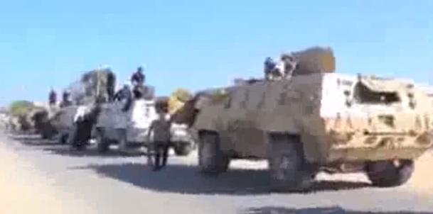 فیلم / درگیری مرگبار ارتش مصر با داعش در صحرای سینا