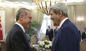 دیدار کری و اردوغان با محوریت سوریه