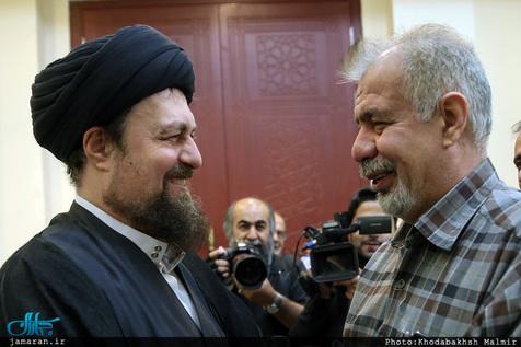 ملاقات بهرام شفیع با سید حسن خمینی در آخرین روزهای عمر+عکس