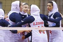 حضور 3 دختر گلستانی در اردوی تیم والیبال