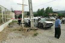 2کشته و 17مصدوم ناشی از سه تصادف در جاده های مازندران