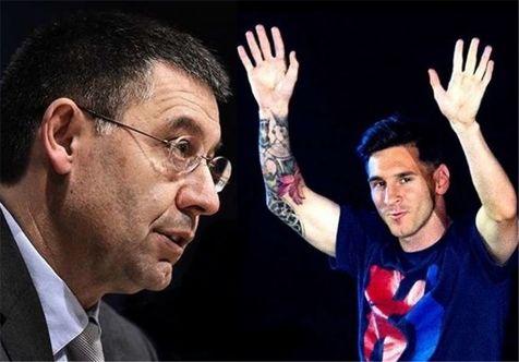بارتومئو: قرارداد مسی با بارسلونا مادامالعمر است
