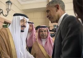 پادشاه عربستان به استقبال اوباما نرفت+عکس