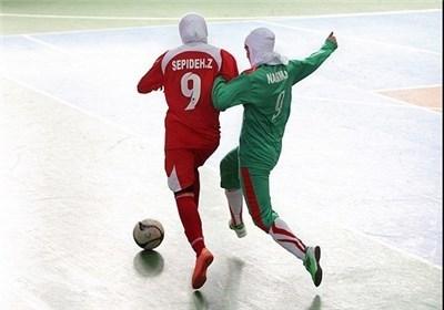 تغییر زمان بازی دوستانه تیم ملی فوتسال بانوان