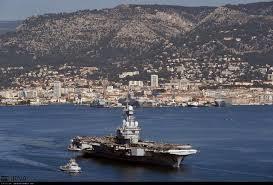 اعزام ناو هواپیمابر شارل دوگل به مدیترانه برای مبارزه با داعش