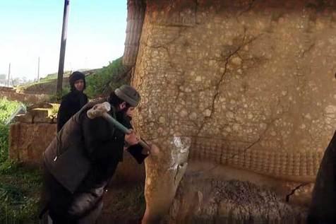محکومیت اقدام داعش در مورد تخریب آثار هنری موزه های عراق