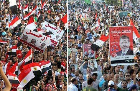 30 کشته و بیش از 500 زخمی ماحصل درگیری ها میان موافقان و مخالفان مرسی