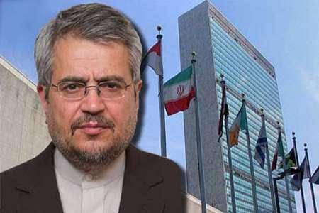 خوشرو خواستار اقدامات سازمان ملل برای تسهیل در ارسال کمک های ایران به یمن شد