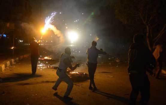 درگیری در مصر 40 مجروح برجا گذاشت