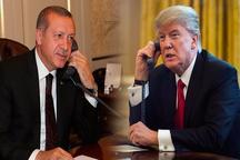 ترامپ بالاخره پیروزی اردوغان را تبریک گفت