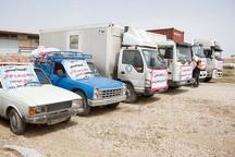 نهمین محموله امدادی بوشهر به مناطق سیل زده ارسال شد