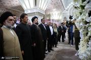 حضور عمران خان در حرم امام خمینی با استقبال یادگار امام