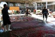 شست و شوی رایگان فرش، جلوه جدید مهربانی با سیل زدگان شیراز