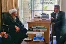 وزیر فرهنگ و ارشاد اسلامی با آیت الله ناصری دیدار کرد