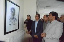 نمایشگاه هنری 'نگاه خلاق'در فسا گشایش یافت