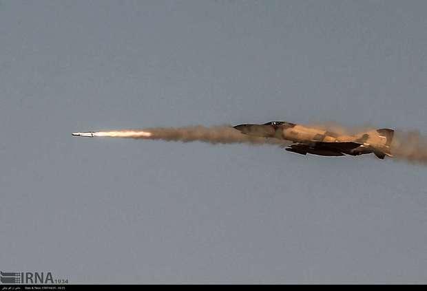 ایران برای نخستین بار عملیات مشترک پهپاد و جنگنده را اجرا کرد + تصاویر