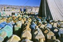 ۹۱۰۰ لیتر گازوییل قاچاق در تاکستان کشف شد