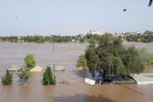 دبی رودخانه دز از مرز 800 مترمکعب گذشت