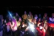 نجات گروه کوهنوردی توسط امدادگران هلال احمر نیشابور