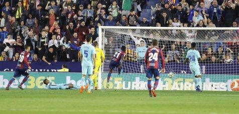 رکورد بارسلونا در یک بازی عجیب شکست