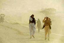 وزش باد شدید در شمال سیستان و بلوچستان آغاز شد