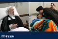 تماس تلفنی سید حسن خمینی با آیت الله العظمی مکارم شیرازی/ عیادت یادگار امام از آیت الله امینی