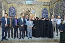 رییس سازمان میراث فرهنگی کشور از بناهای تاریخی سمنان بازدید کرد