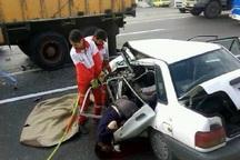 تصادف در محور بوکان - شاهین دژ یک کشته برجا گذاشت