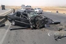 تصادف در الیگودرز یک کشته و پنج زخمی بر جا گذاشت