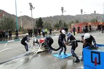 المپیاد ورزشی آتش نشانان کشور در یزد به پایان رسید