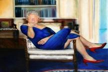 بیل کلینتون با لباس زنانه! + عکس