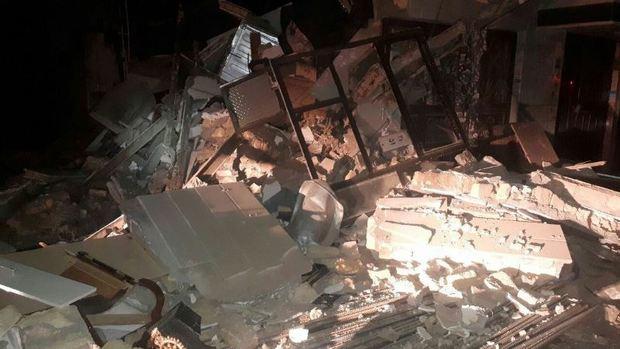ساختمان 2 طبقه در مشهد فروریخت