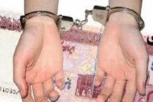 شناسایی و دستگیری توزیع کنندگان چک پول های تقلبی در رشت