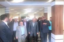 ساختمان اداری گمرک منطقه آزاد اروند بهره برداری شد