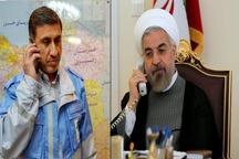 رئیس جمهوری بر  اتخاذ تدابیر ویژه برای آرامش مردم تاکید کرد