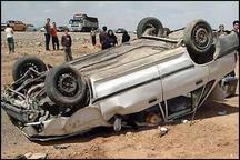 واژگونی ، علت اصلی حوادث رانندگی در جاده های ایلام