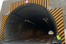 تونل شیرین سو در قزوین مسدود شد