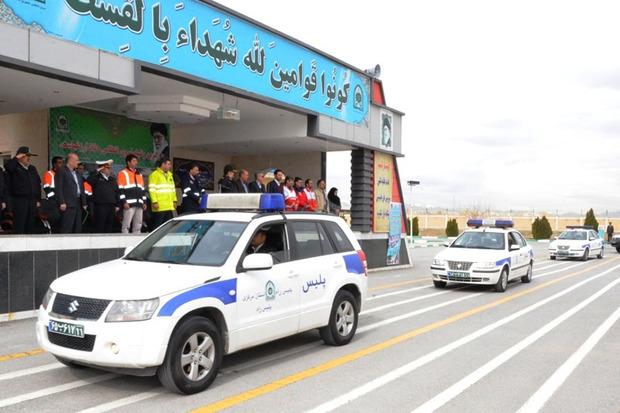 عملیات تمرینی طرح انتظامی ترافیکی نوروز استان مرکزی برگزارشد