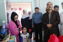 برگزاری مراسم قصهخوانی برای کودکان بستری در بیمارستان خرم آباد