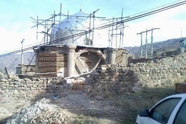 مقبره شیخ کشف الدین انصاری در خلخال مرمت می شود