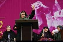 کیهان: حراست صداوسیما با لیلی رشیدی به خاطر نحوه حمایتش از روحانی برخورد کند