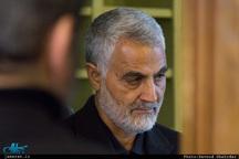 واکنش سردار سلیمانی به ادعای ترامپ درباره ساقط کردن پهپاد ایران