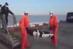 لحظه ورود دو پیکر کشف شده نفتکش سانچی به شانگهای