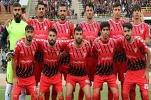تیم فوتبال سردار بوکان مقابل خوشه طلایی ساوه باخت