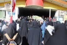 دانش آموزان یزدی با شهید گمنام دفاع مقدس وداع کردند