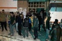 مهار آتشسوزی خوابگاه دانشجویی دانشگاه یاسوج با تلاش آتش نشانان
