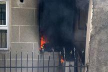 آتش سوزی در مجتمع مسکونی مال قاید گناوه پنج مصدوم داشت