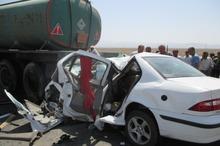 حادثه رانندگی در بروجرد پنج کشته و یک مصدوم داشت