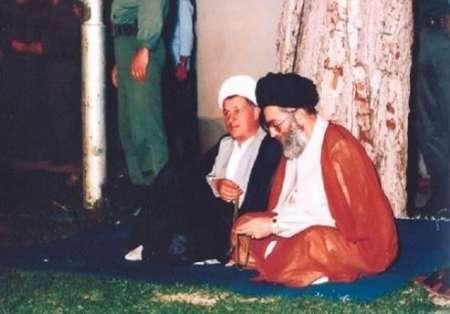 خاطره رهبر معظم انقلاب از ملاقات با آیت الله هاشمی در زندان