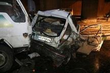 تصادف در جیرفت 2 کشته برجا گذاشت
